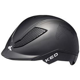 KED Pina Helmet Kids black script matte